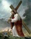 Tajemnica Bolesna - Dzwiganie krzyza przez Pana Jezusa