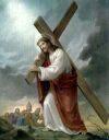 Tajemnica Bolesna - Dźwiganie krzyża przez  Pana Jezusa