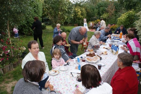 Spotkanie integracyjne i msza święta w Krępcu k/ Świdnika w domu Mari Winiarskiej 2012-09-30