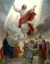 Tajemnica Chwalebna - Wniebowstąpienie Pana Jezusa