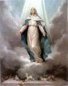 Tajemnica Chwalebna - Wniebowzięcie Maryi do Nieba