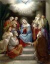 Tajemnica Chwalebna - Zesłanie Ducha Świętego
